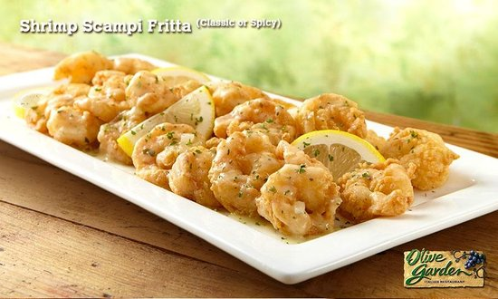 Shrimp scampi fritta classic or spicy picture of olive garden torre futura san salvador for Olive garden shrimp scampi fritta