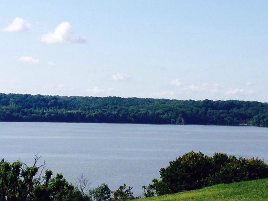 George Washington's Mount Vernon: View of the Potomac from the mansion
