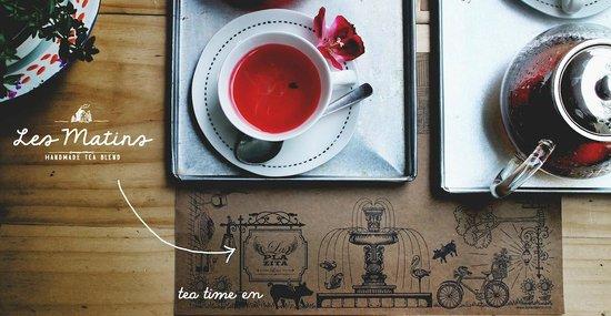 La Plazita Lima: Les Matins ... deliciosos blends de té fino, orgánico.