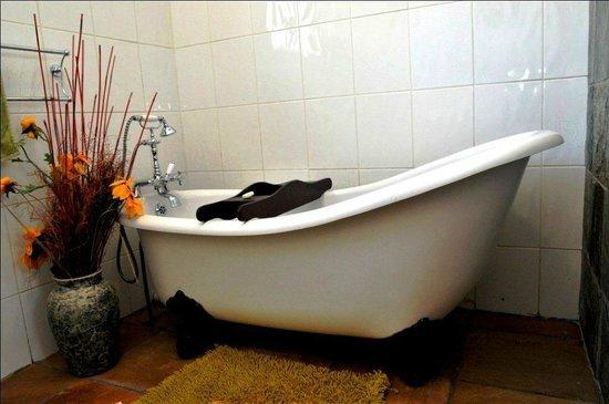 Blue Mango Lodge : Victorian bath tubs