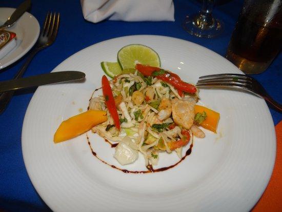 Ocean Spa Hotel: comidas mexicana