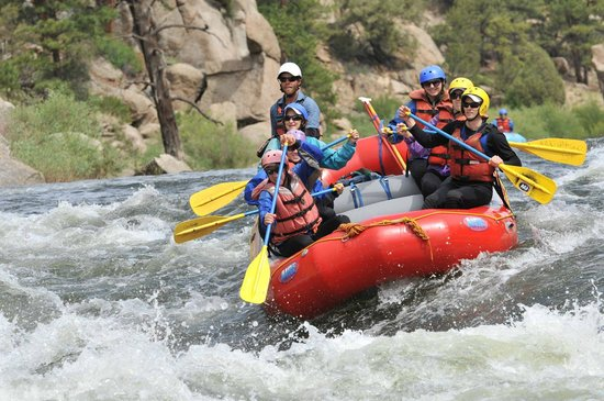 Independent Whitewater : Our rafting pic!
