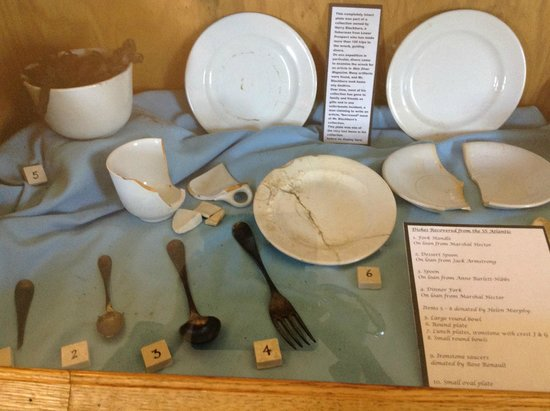 SS Atlantic Heritage Park: Artifacts