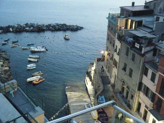 Alla Marina: View from our patio