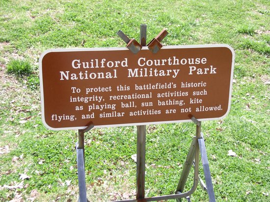 Guilford Courthouse National Military Park: Guilford Military Park