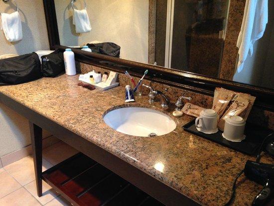Best Western Plus Island Palms Hotel & Marina: bathroom