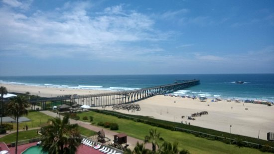 Rosarito Beach Hotel : Our bedroom view