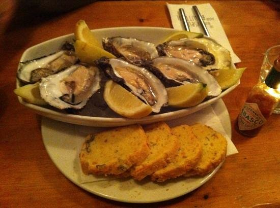 The Boxty House: Beautiful Galway oysters