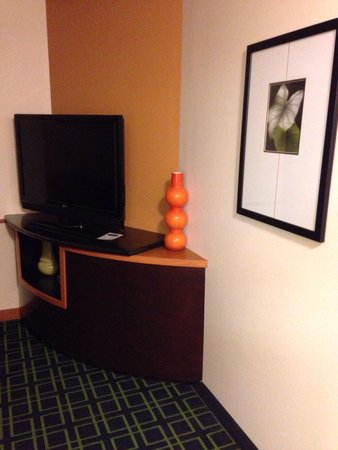 Fairfield Inn & Suites Lexington North : Lovely sitting area within the room