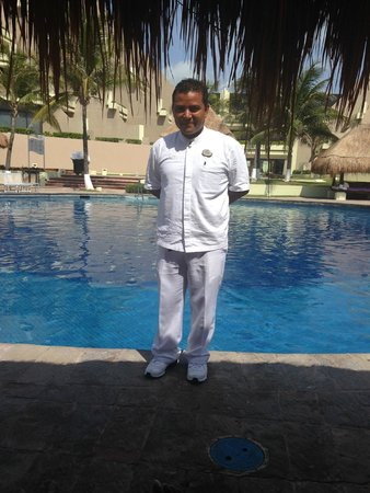 Paradisus Cancun: Our butler, Juan