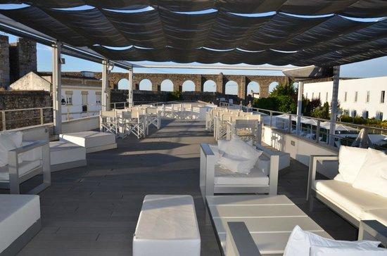 Hotel M'Ar De AR Aqueduto -Évora(esplanada)