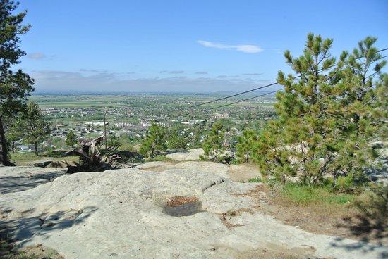 The Rimrocks: lovely views!