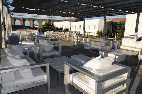 Hotel M'Ar De AR Aqueduto -Évora( esplanada)