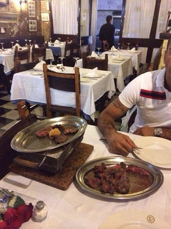 El Novillo Precoz : Mix steaks...!