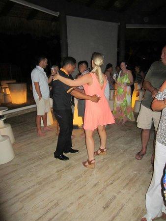 Paradisus Punta Cana: Dancing at Gaby Beach
