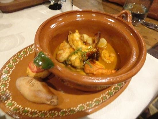 Don Sanchez Restaurante: seafood chopino