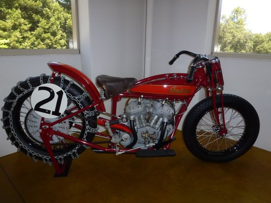 Canepa Motorsports Museum: Lovely Indian bike