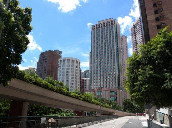 Garden View Hong Kong: 外観