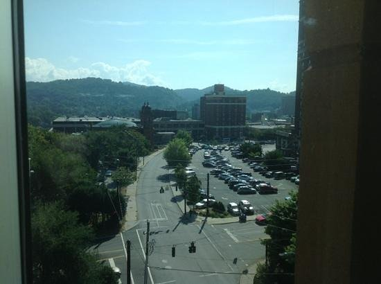 Hotel Indigo Asheville Downtown: View from Room 715