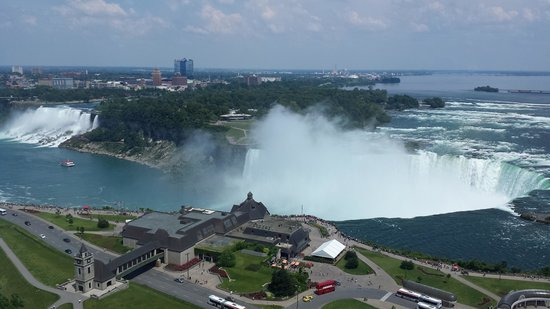 Niagara Falls Marriott Fallsview Hotel & Spa : View from our room
