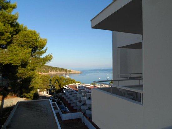 Sandos El Greco Beach Hotel: View from room