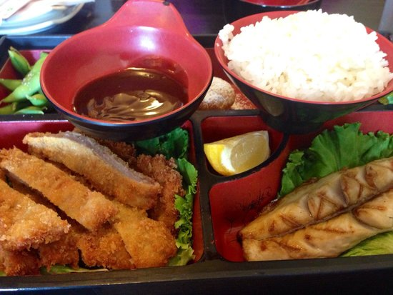 Happy Sashimi: Bento lunch