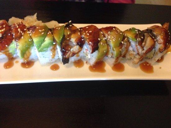 Happy Sashimi: Dragon roll
