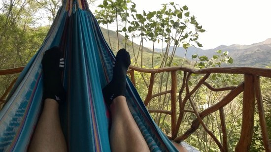 Madre Tierra Resort & Spa: The balcony of room #6
