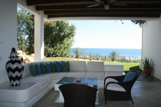 Las Ventanas al Paraiso, A Rosewood Resort: Our terrace with view to the sea