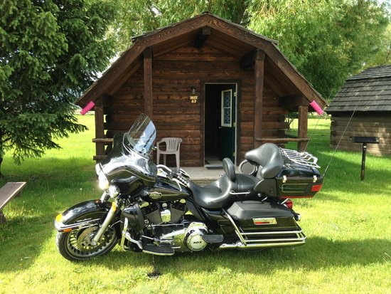 Teton Valley RV Park: Bike not included