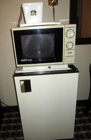 Best Western Mountainbrook Inn: outdated microwave/fridge