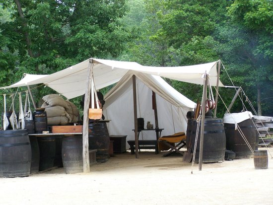 American Revolution Museum at Yorktown: Camp