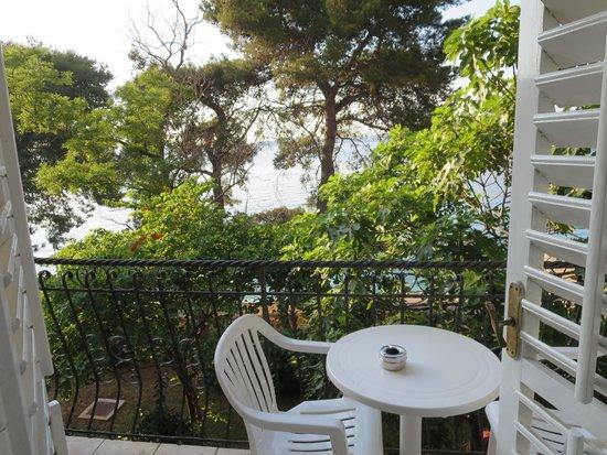 Island Hotel Katarina: Balcony