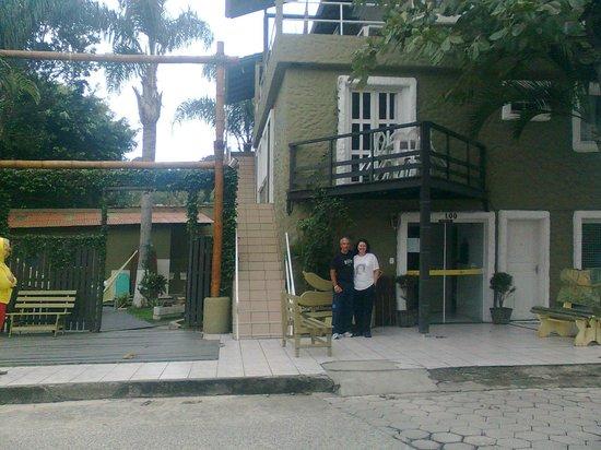 Pousada Banana House: frente da pousada