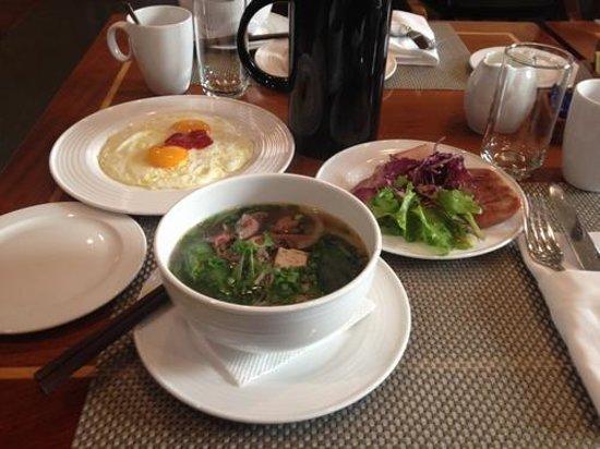 Renaissance Riverside Hotel Saigon: 朝食