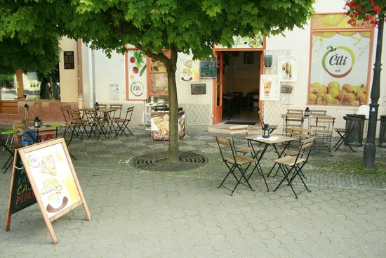 Terrace of Cili Cafe