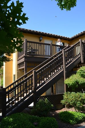 """The Lodge at Sonoma Renaissance Resort & Spa: Upstairs """"cottage"""""""