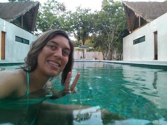 AQUA VIVA Tulum: me on the pool !