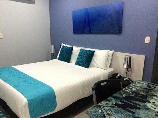 Hotel Blue Concept: la chambre !!!!