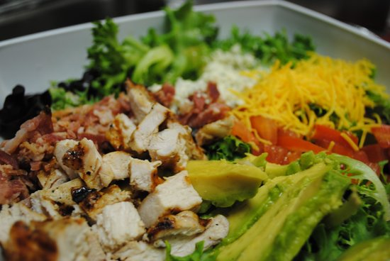Cleat Chasers: Cobb salad