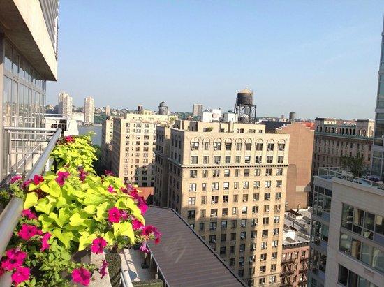 NYLO New York City: Vue de la terrasse 16e étage - Nylo