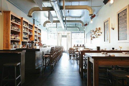 The Pinewood: Interior