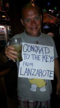 The Keys Bar: Paul your amazing