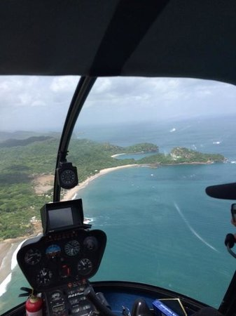 Mukul Beach Golf & Spa: View from the helicopter