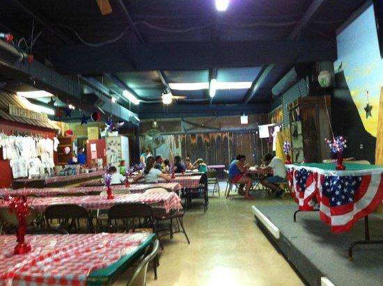 Yogi Bear's Jellystone Park Camp-Resort Hill Country: Inside Jellystone Hall - the activity hub