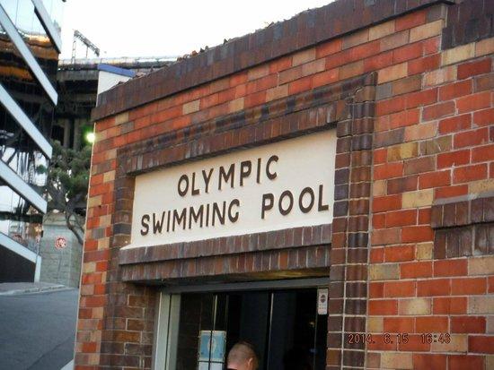 Olympic Pool North Sydney: pool building