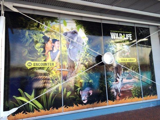 WILD LIFE Sydney Zoo: 入口付近
