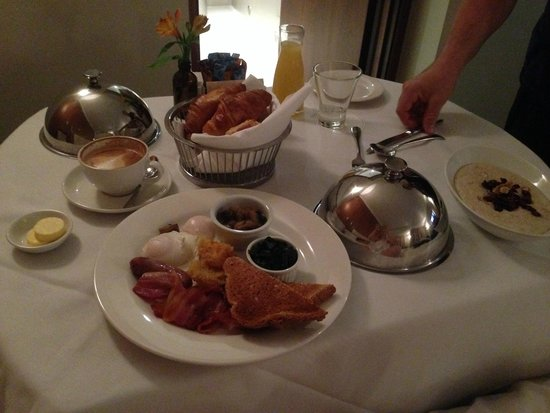 Sofitel Queenstown Hotel & Spa : One person breakfast that fed us both - as delicious as it looks.