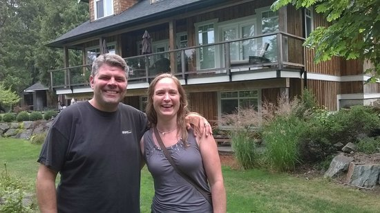 Stone Wood Bed and Breakfast : First morning as Mr. and Mrs.