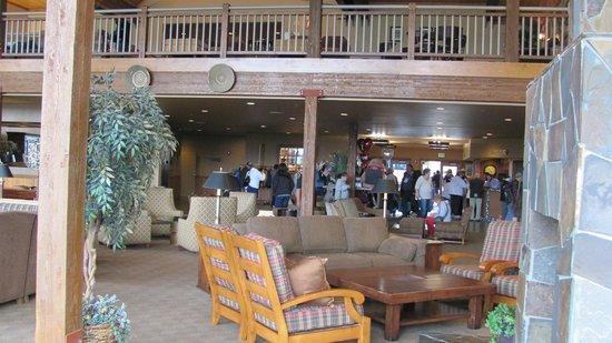 Copper River Princess Wilderness Lodge: lounge area